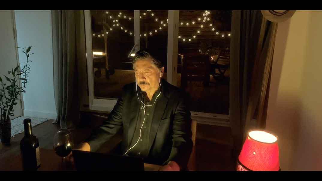 Carlos Bardem - Relatos con-fi-na-dos © Amazon Prime Video