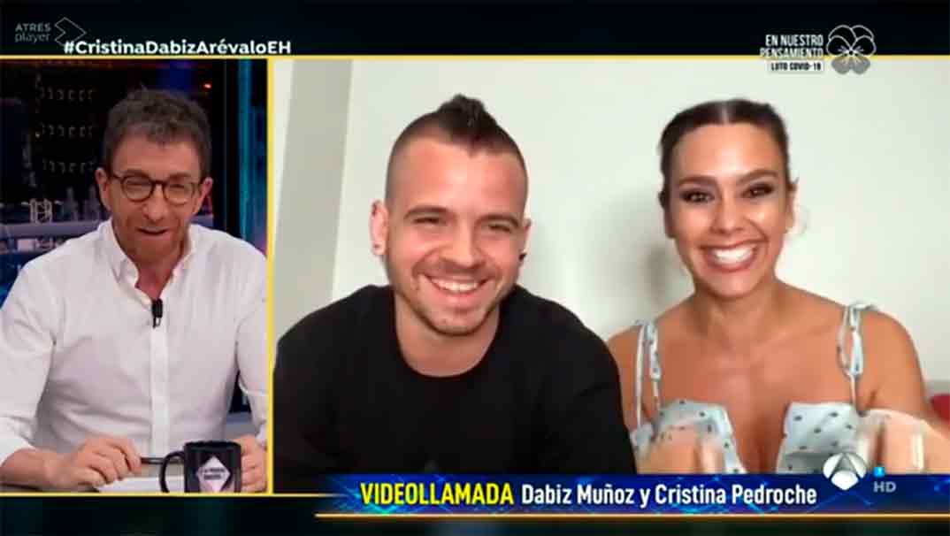 Cristina Pedroche y David Muñoz - El Hormiguero © Antena 3