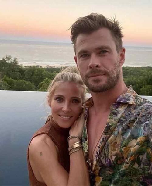 El momento «relax» de Elsa Pataky y Chris Hemsworth