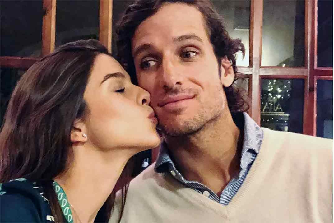 Feliciano López y Sandra Gago anuncian el sexo de su bebé