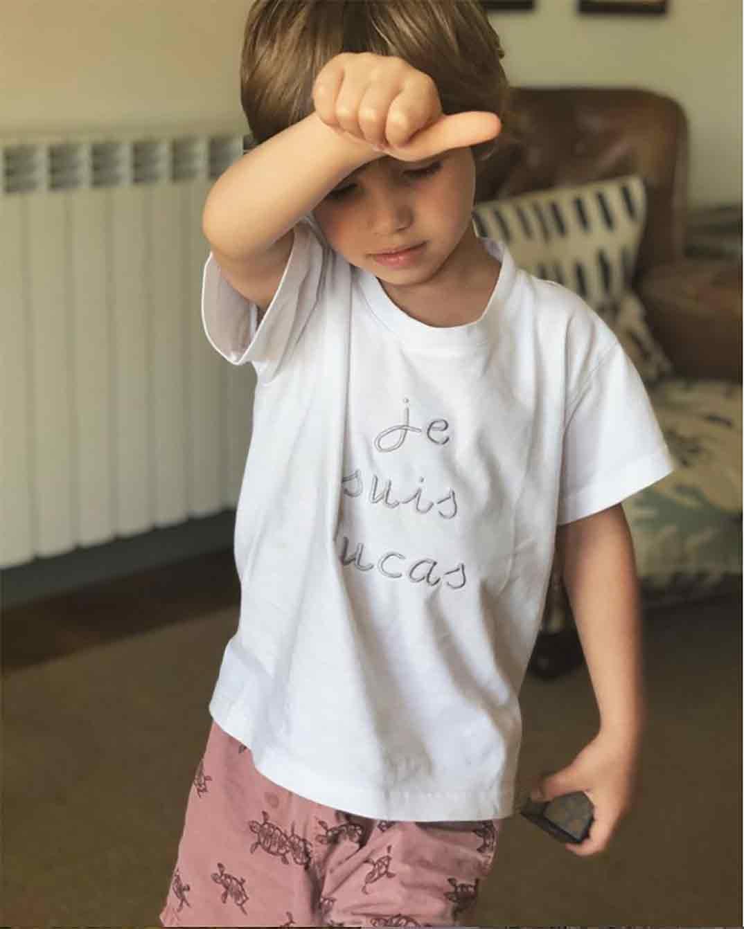 Lucas, hijo Iker Casillas y Sara Carbonero © Instagram