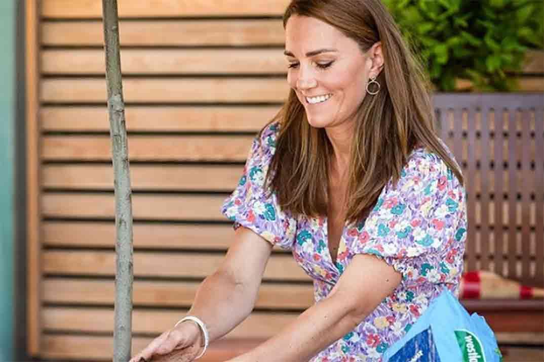El vestido de flores de Kate Middleton ideal para el verano