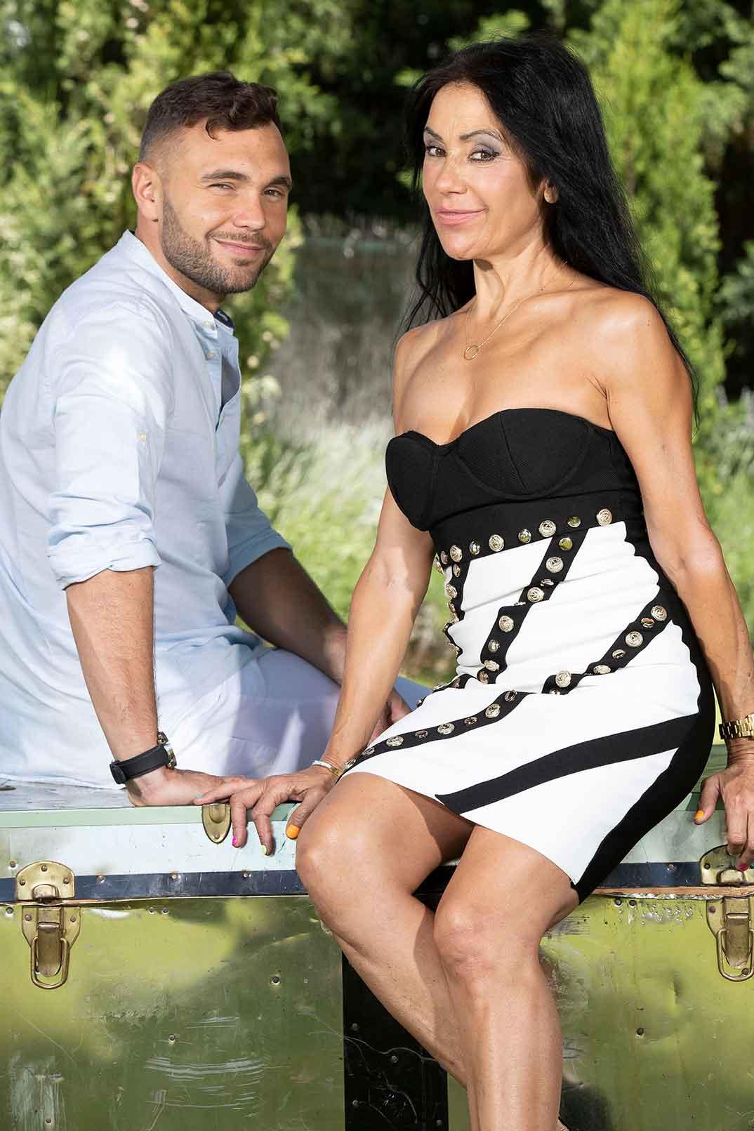 Maite y Cristian - La casa fuerte © Mediaset