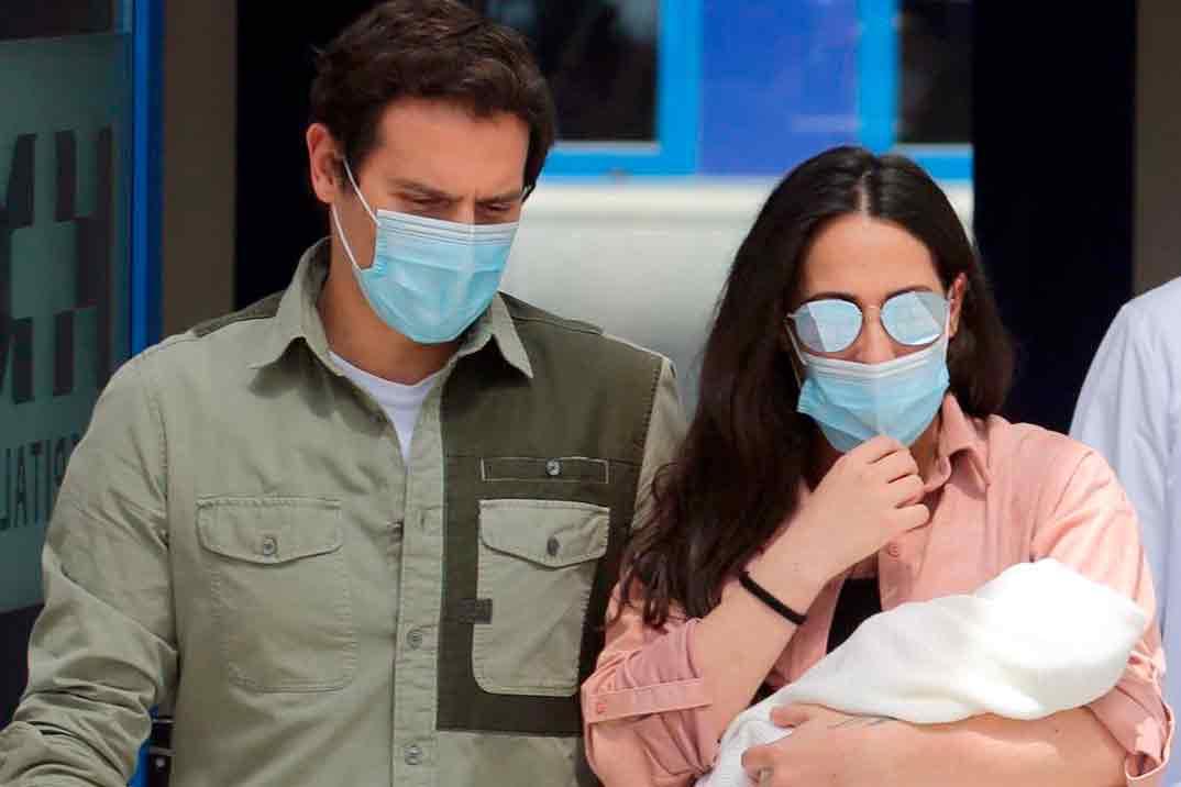 Primeras palabras de Albert Rivera tras el nacimiento de su hija