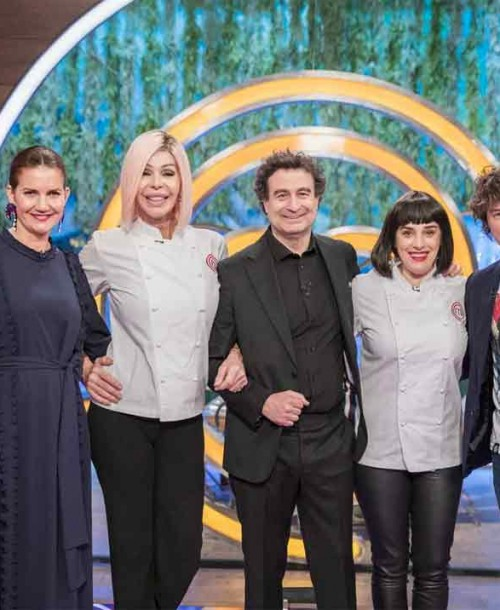 "Masterchef 8: Bibiana Fernández y Anabel Alonso esta noche en ""masterchef"""