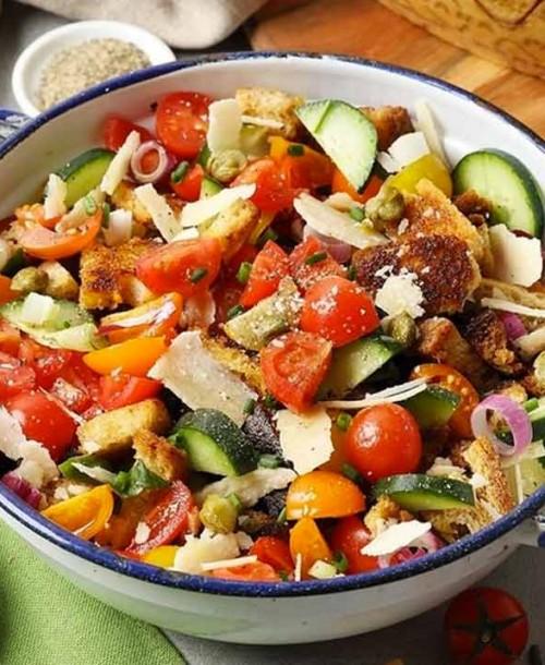 4 recetas con verduras frescas y Grana Padano perfectas para el verano
