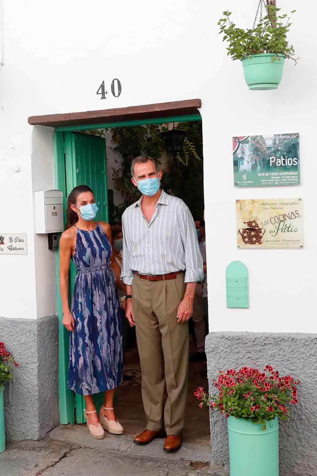 Reyes Felipe y Letizia en Córdoba © Casa S.M. El Rey