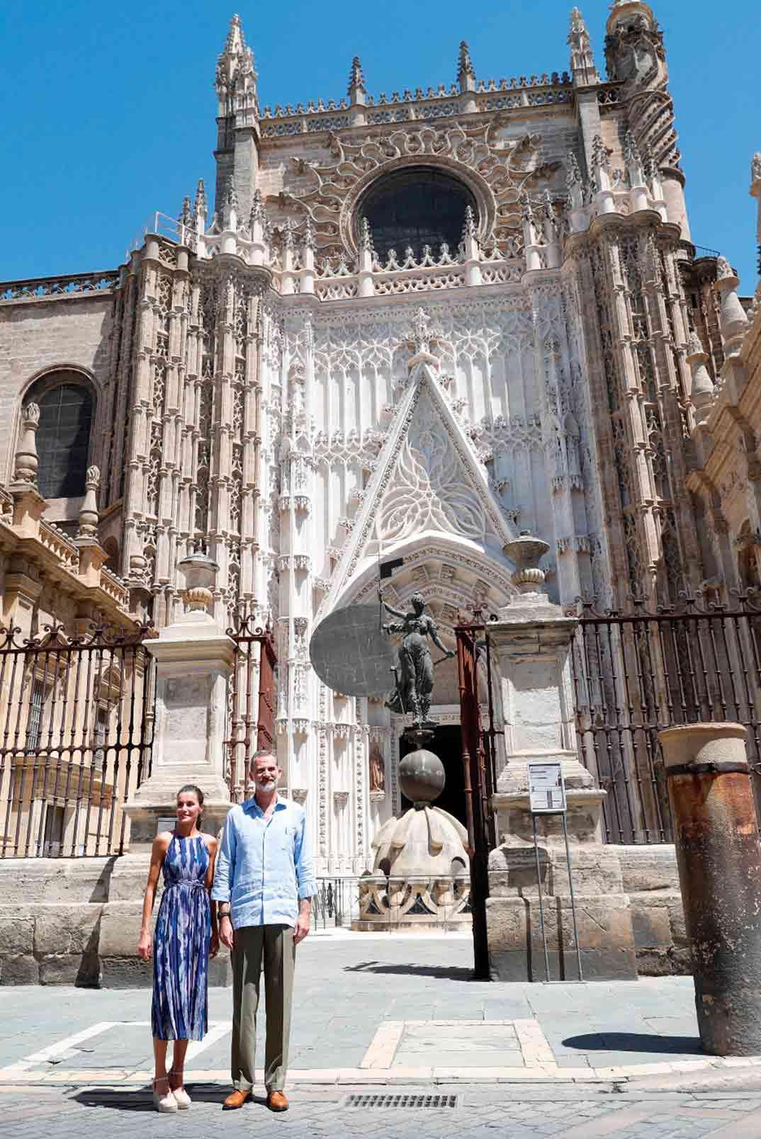 Reyes Felipe y Letizia en Sevilla © Casa S.M. El Rey