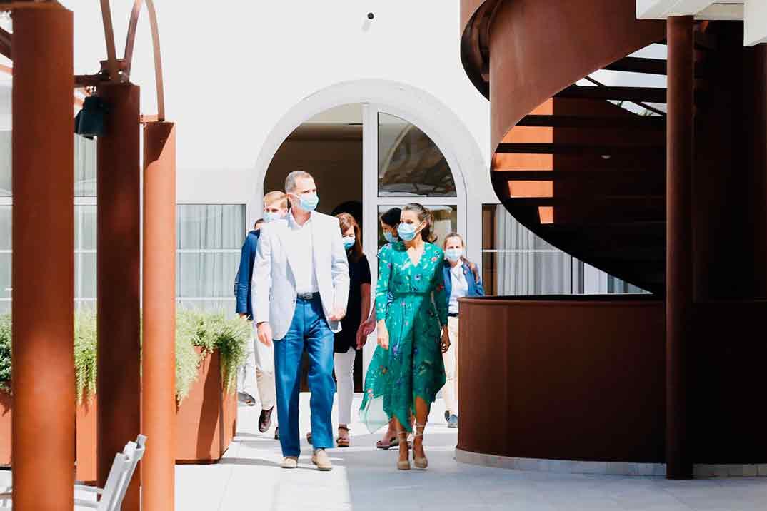 Reyes Felipe y Letizia - Islas Baleares © Casa S.M. El Rey