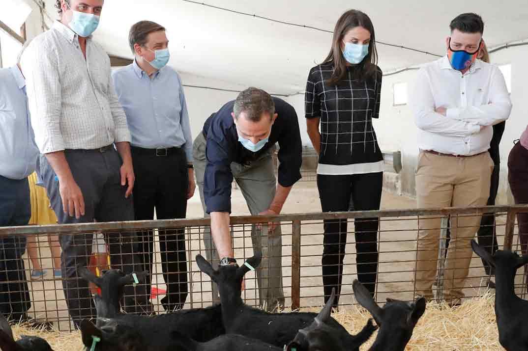El look deportivo de la reina Letizia para visitar una granja