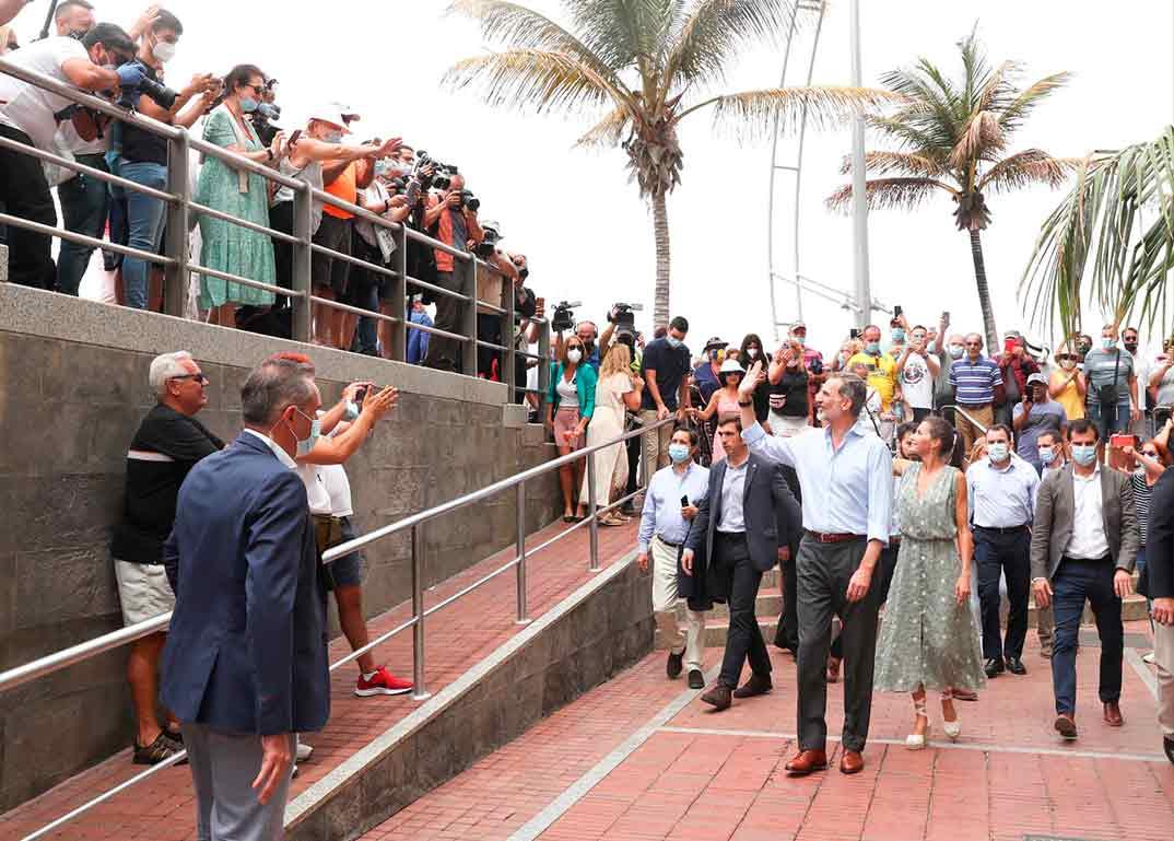 Reyes Felipe y Letizia - Visita Islas Canarias © Casa S.M. El Rey