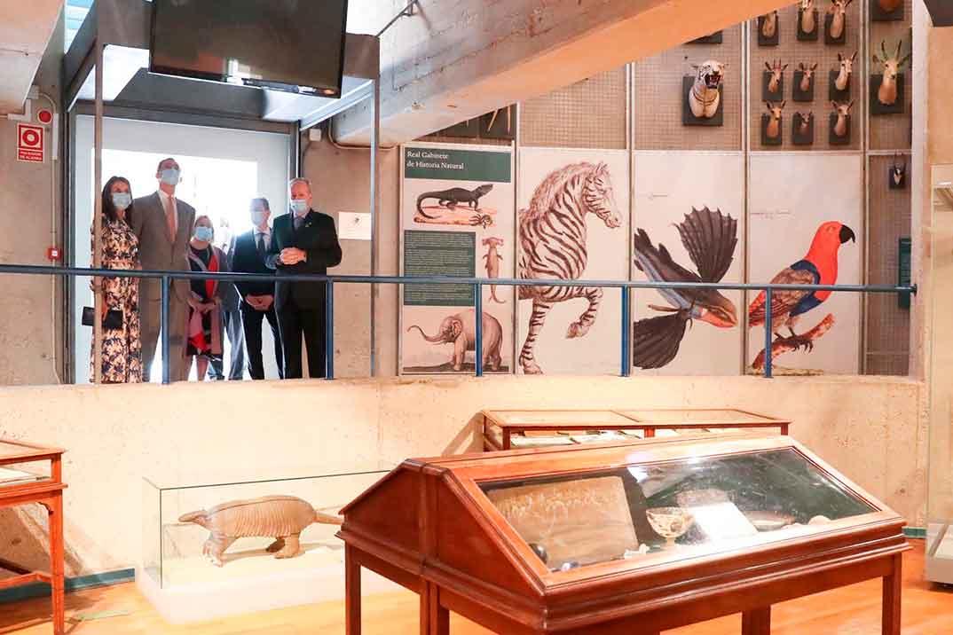 Reyes Felipe y Letizia - Museo Ciencias Naturales © Casa S.M. El Rey