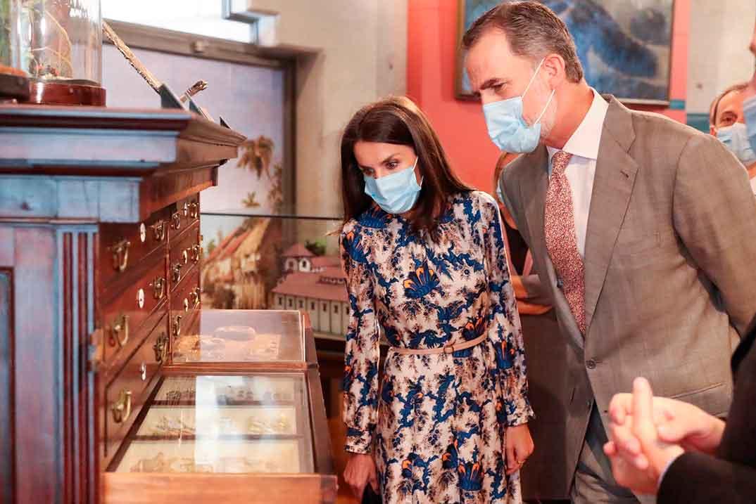 Los Reyes visitan el Museo de Ciencias Naturales