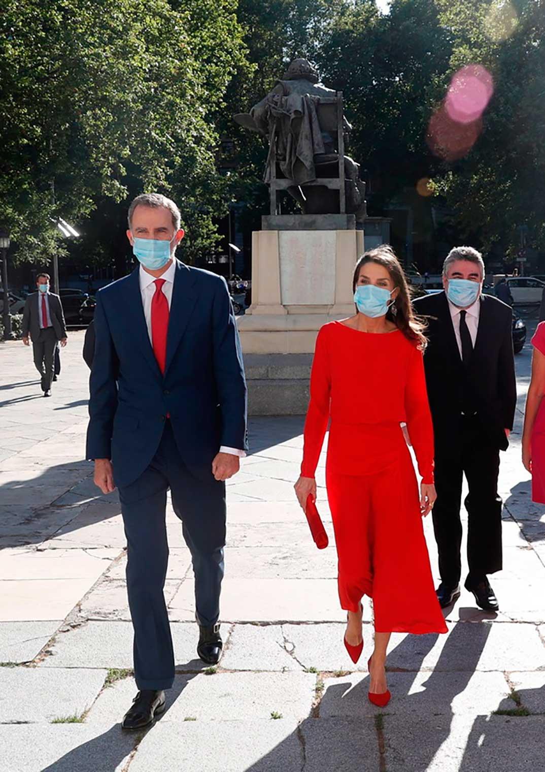 Reyes Felipe y Letizia - Campaña Spain for Sure © Casa S.M. El Rey