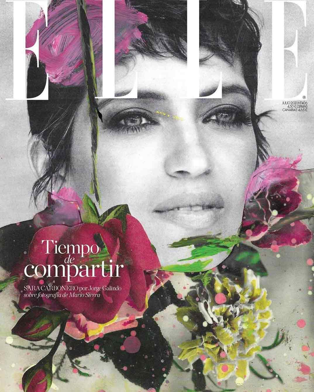 Sara Carbonero- Revista Elle