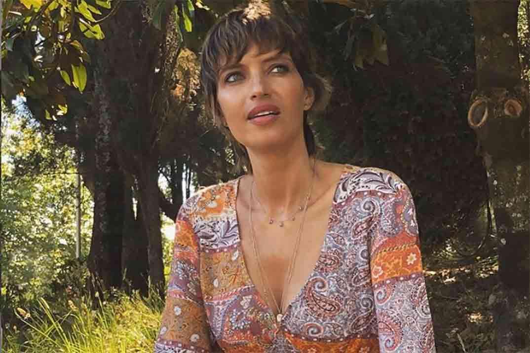 Sara Carbonero con el vestido más bonito de su firma