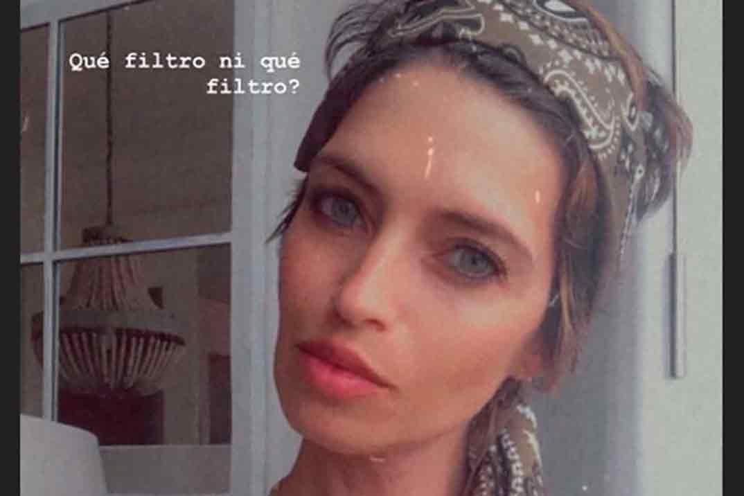 La foto «sin filtro» de Sara Carbonero