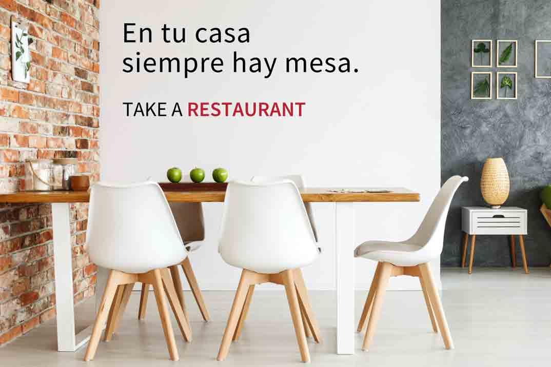 Take a Restaurant: Te traslada la experiencia de un restaurante a tu casa