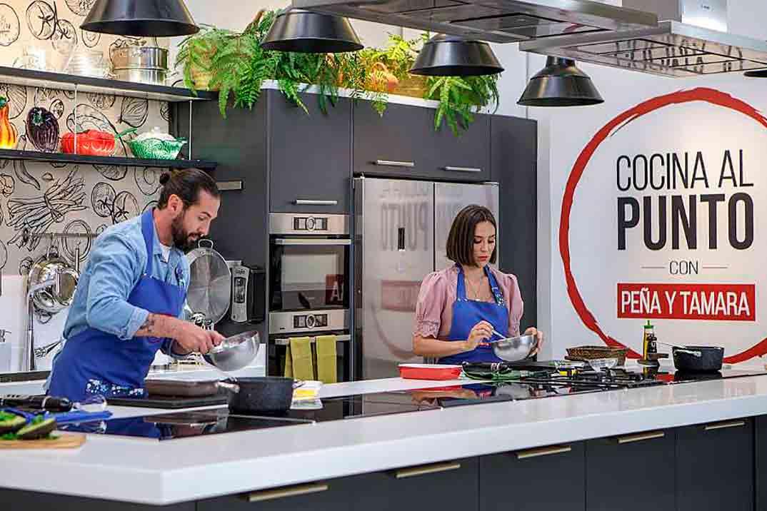 Javier Peña y Tamara Falcó - Cocina al punto con Peña y Tamara © RTVE