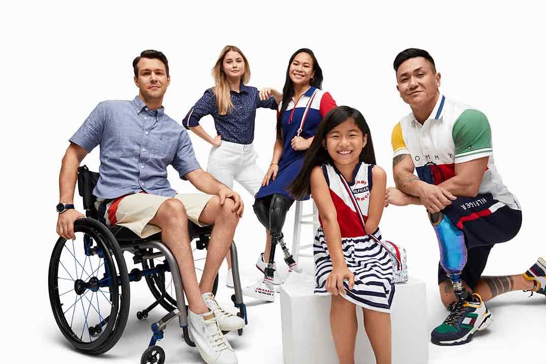 Tommy Hilfiger lanza su colección para personas con discapacidad