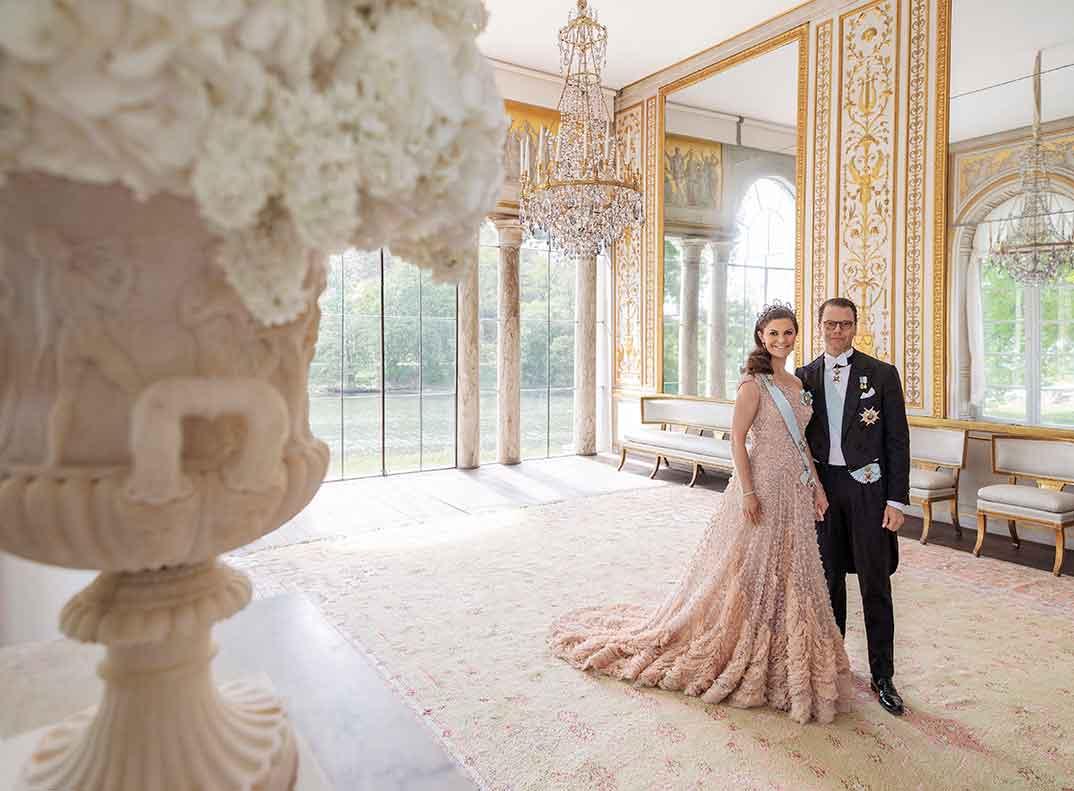 Príncipes Victoria y Daniel de Suecia © Elisabeth Toll Kungl/kungahuset.se