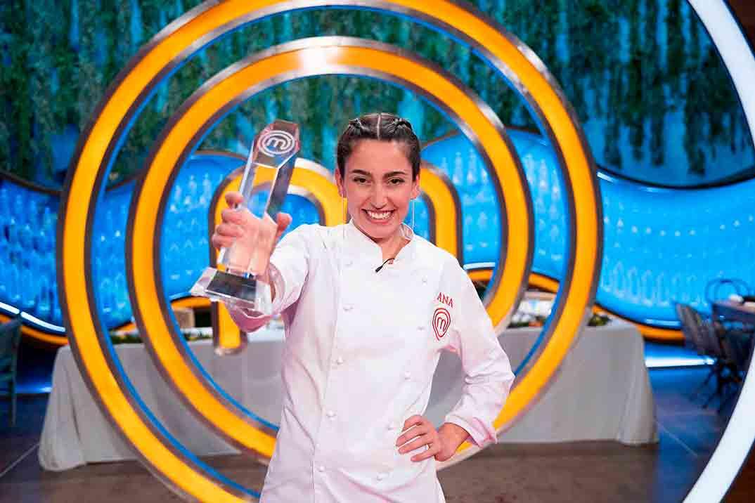 Ana Iglesias gana 'MasterChef 8'