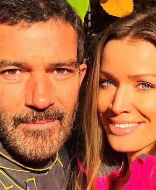 El emotivo reencuentro de Antonio Banderas y Nicole Kimpel