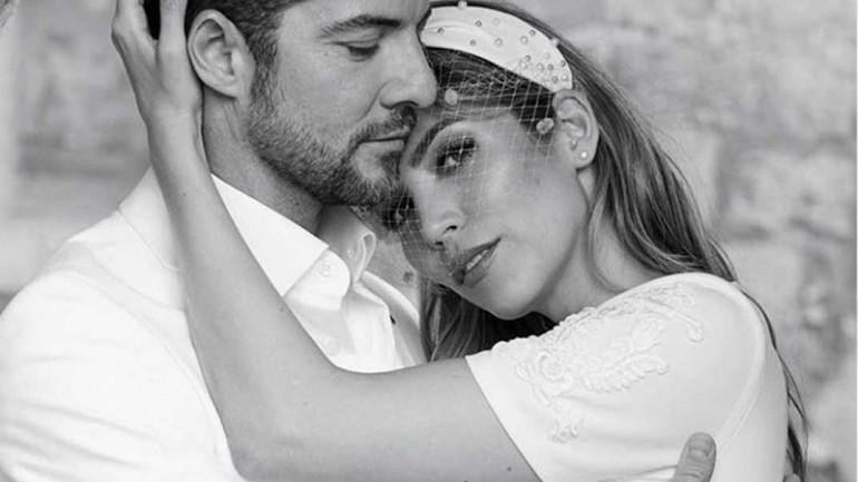 David Bisbal y Rosanna Zanetti - Boda 2/7/2018 © Instagram