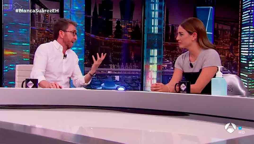 Blanca Suárez y Pablo Motos - El Hormiguero © Antena 3