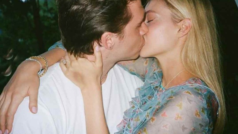 Brooklyn Beckham y Nicola Peltz © Instagram