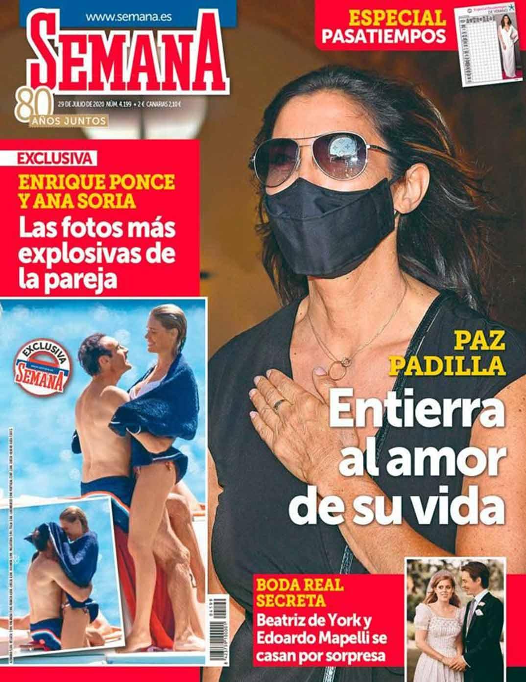 Enrique Ponce y Ana Soria - Revista Semana