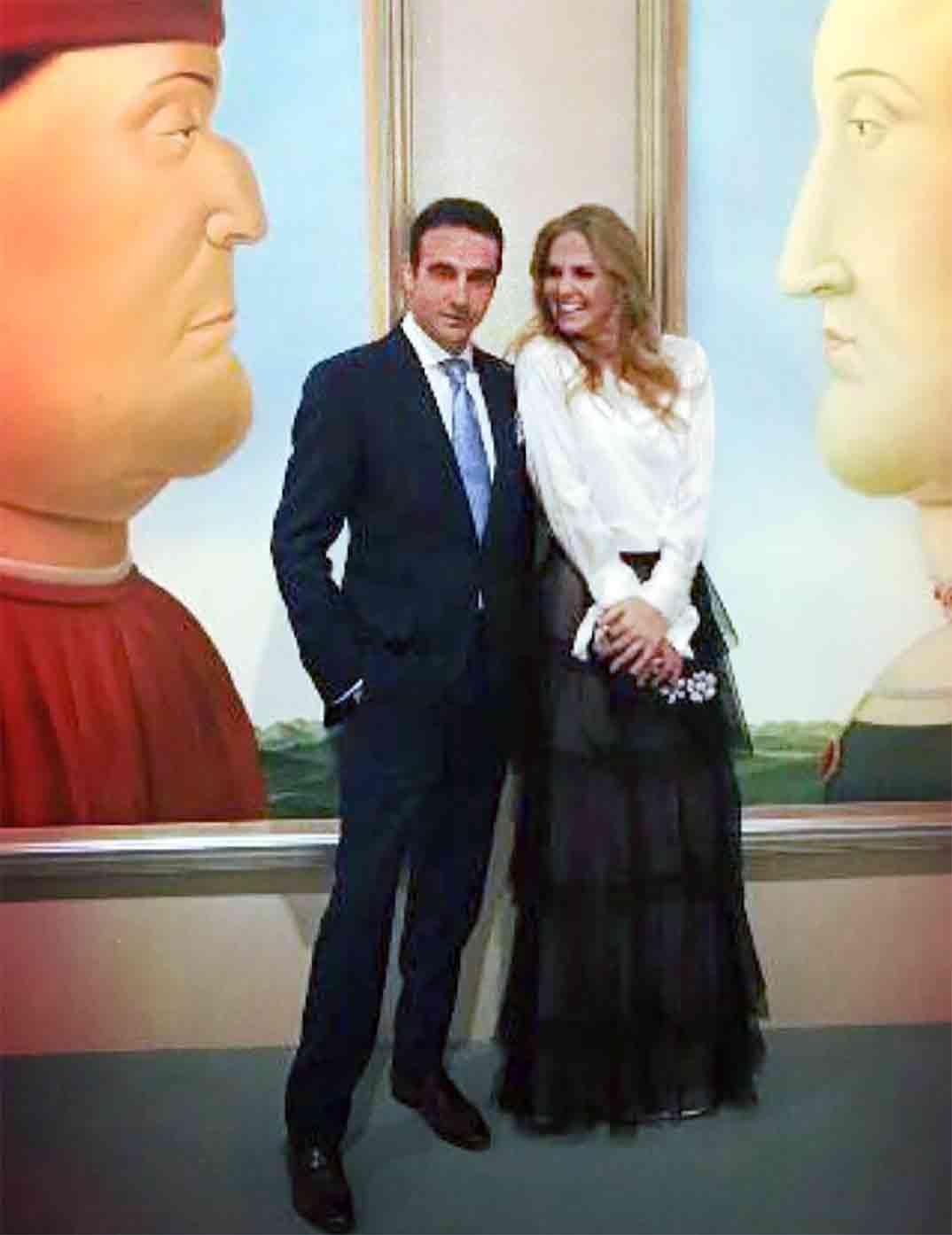 Enrique Ponce y Genoveva Casanova © Instagram