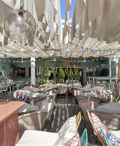 Mare, la propuesta del chef con estrella Michelin Jose Manuel Miguel frente al Mediterráneo