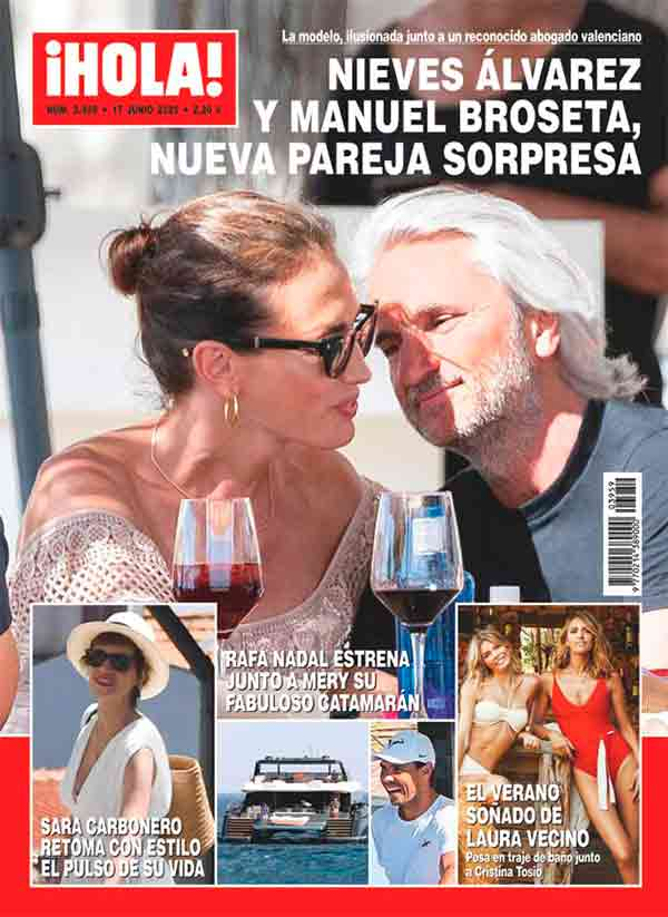 Nieves Álvarez y Manuel Broseta - Revista Hola