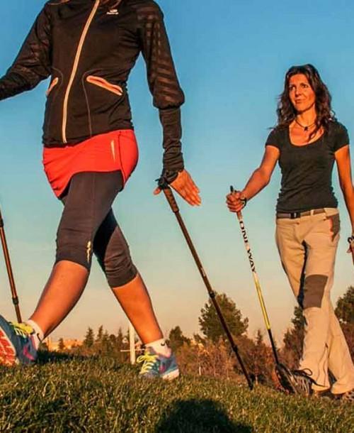 Qué es la marcha nórdica y cómo practicarla