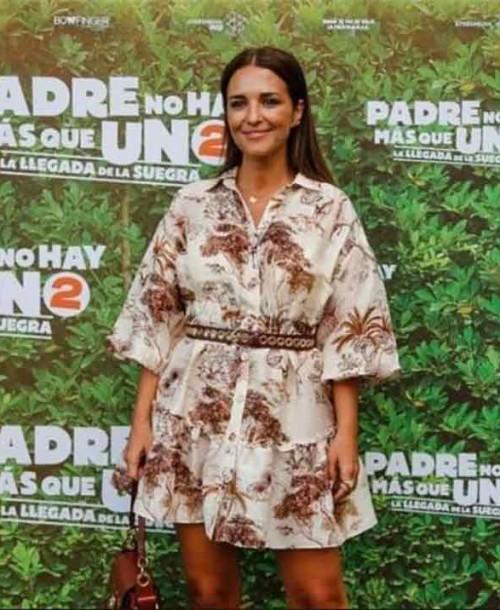 Paula Echevarría: «No tengo trabajo ahora mismo»