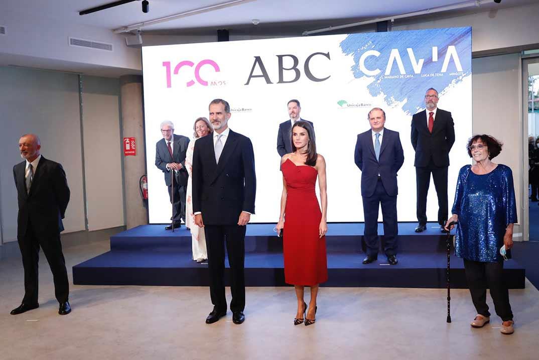 Reyes Felipe y Letizia - Premios Internacionales de Periodismo de ABC - Casa S.M. El Rey