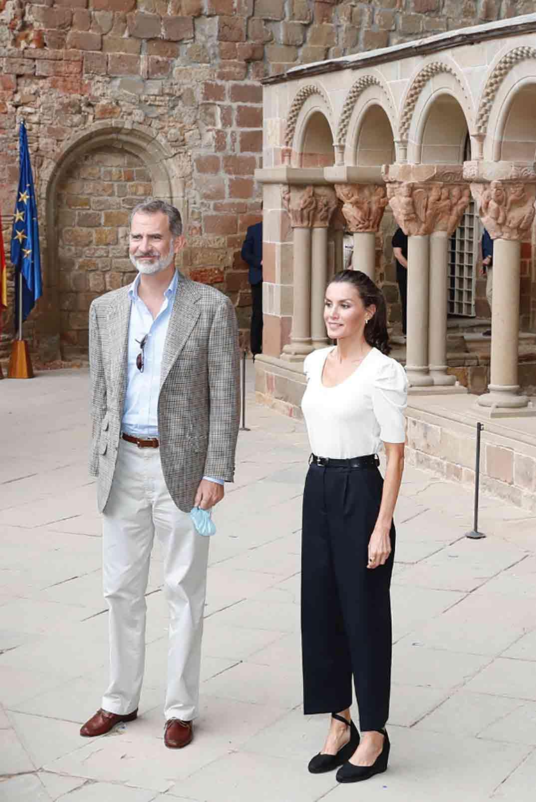 Reyes Felipe y Letizia - Aragón © Casa S.M. El Rey