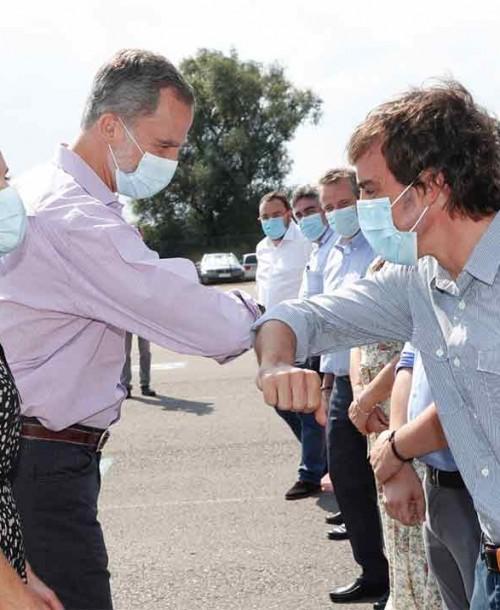 Así ha sido la visita de los Reyes a Asturias