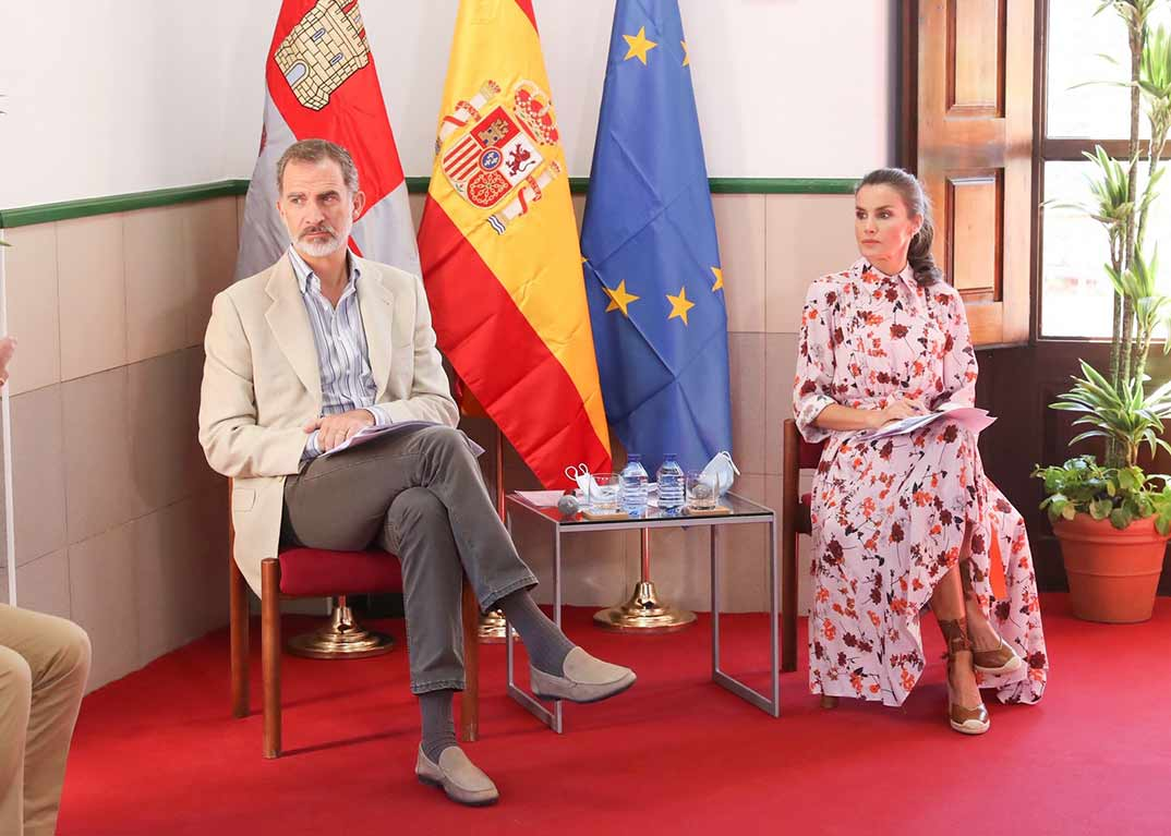 Reyes Felipe y Letizia -Castilla y León - Casa S.M. E. Rey
