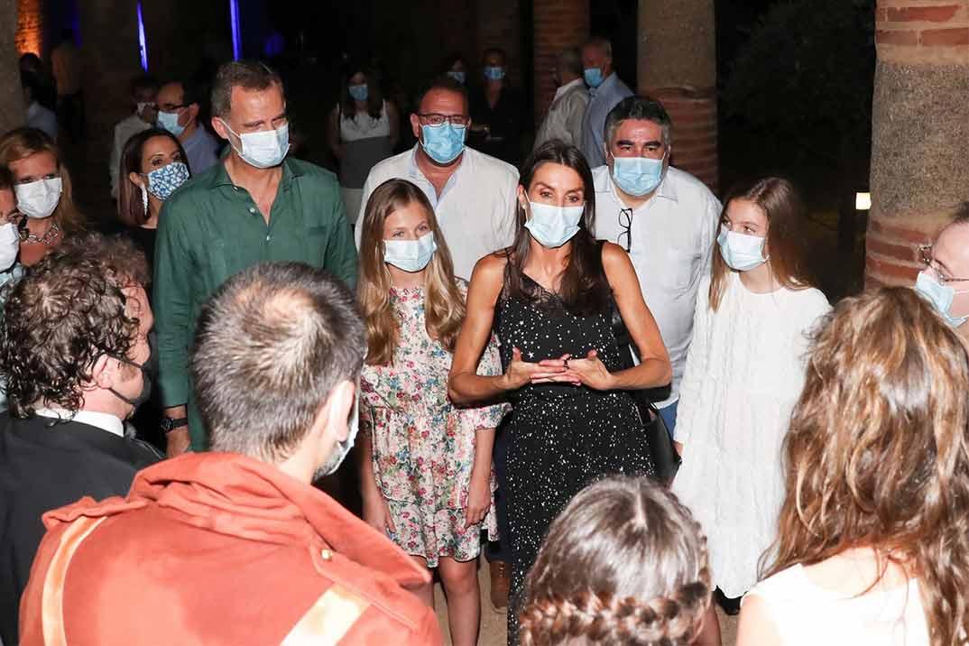 La princesa Leonor y la infanta Sofía se unen a los Reyes en su viaje a Mérida