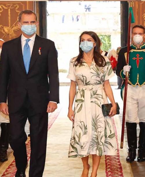 Así ha sido la visita más significativa de los Reyes, Felipe y Letizia, a Galicia