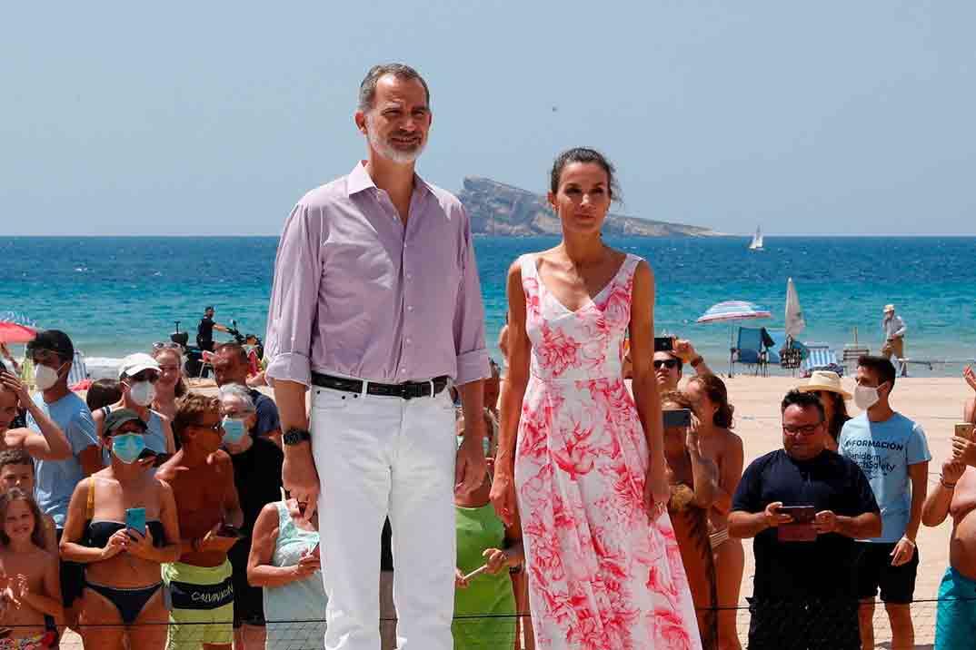 Reyes Felipe y Letizia - Benidorm © Casa S.M. El Rey