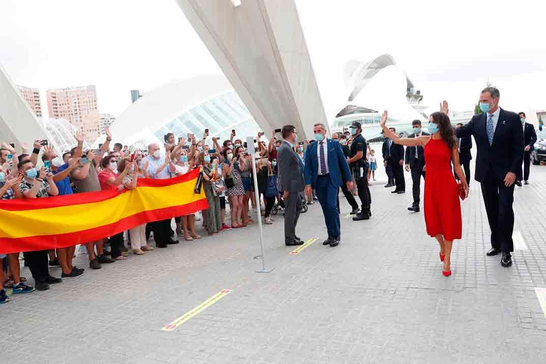 Reyes Felipe y Letizia - Comunidad Valenciana © Casa S.M. El Rey