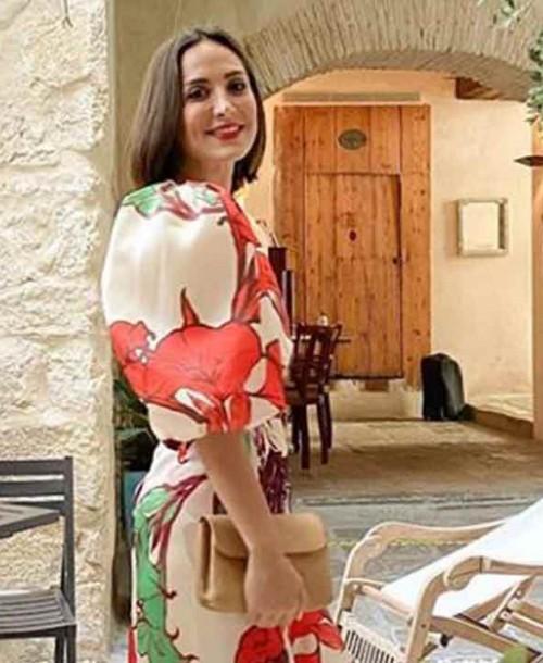 Tamara Falcó se convierte en la invitada perfecta en la boda de Tita Astolfi