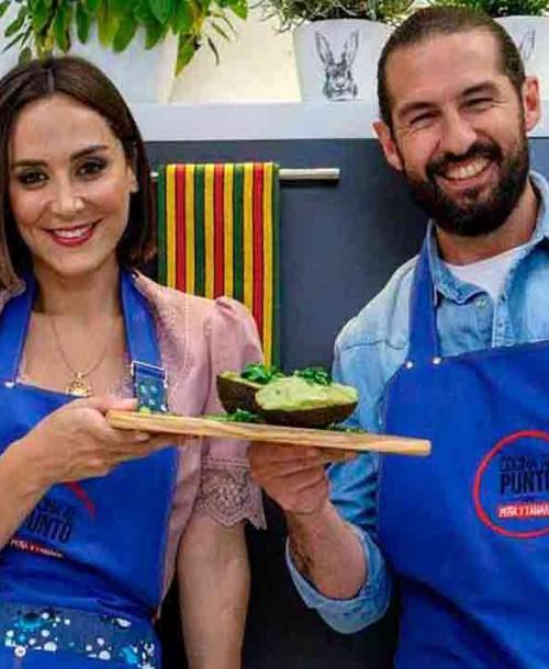 El 'feeling' entre Tamara Falcó y Javier Peña en «Cocina al punto»