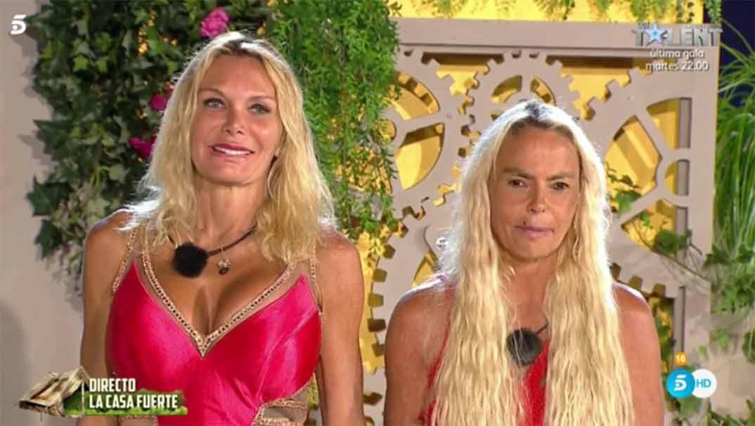Letizia Sabater y Yola Berrocal - La casa fuerte - Telecinco