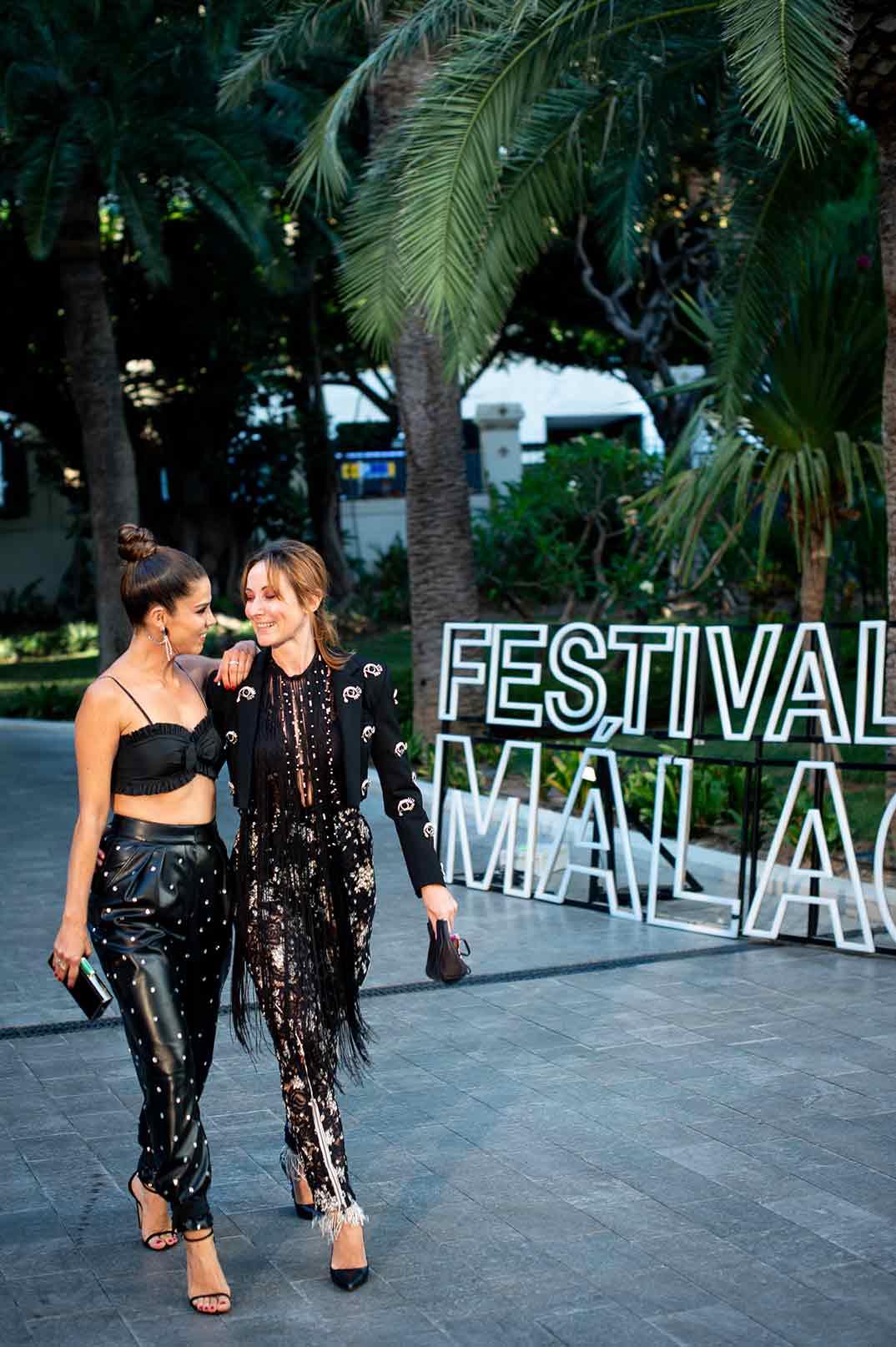 Juana Acosta y Nathalie Poza © Festival de Cine de Málaga 2020