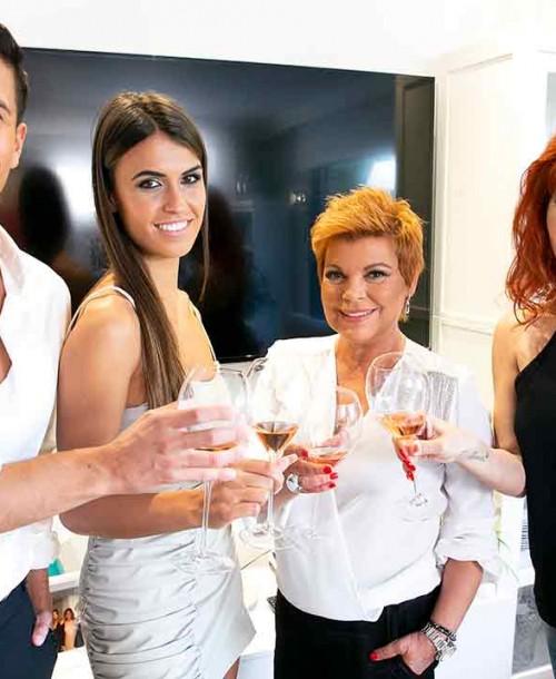Terelu Campos, Gianmarco Onestini, Sofía Suescun y Yurena anfitriones de la nueva edición de 'Ven a cenar conmigo: Gourmet Edition'