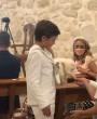 Así fue la Primera Comunión del hijo de Alba Carrillo y Fonsi Nieto